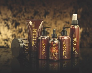 The family of Hair-yurvedic products from I.C.O.N.